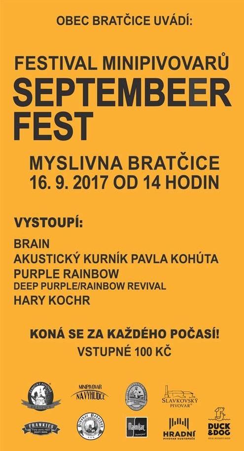 Festival minipivovarů SEPTEMBEER FEST