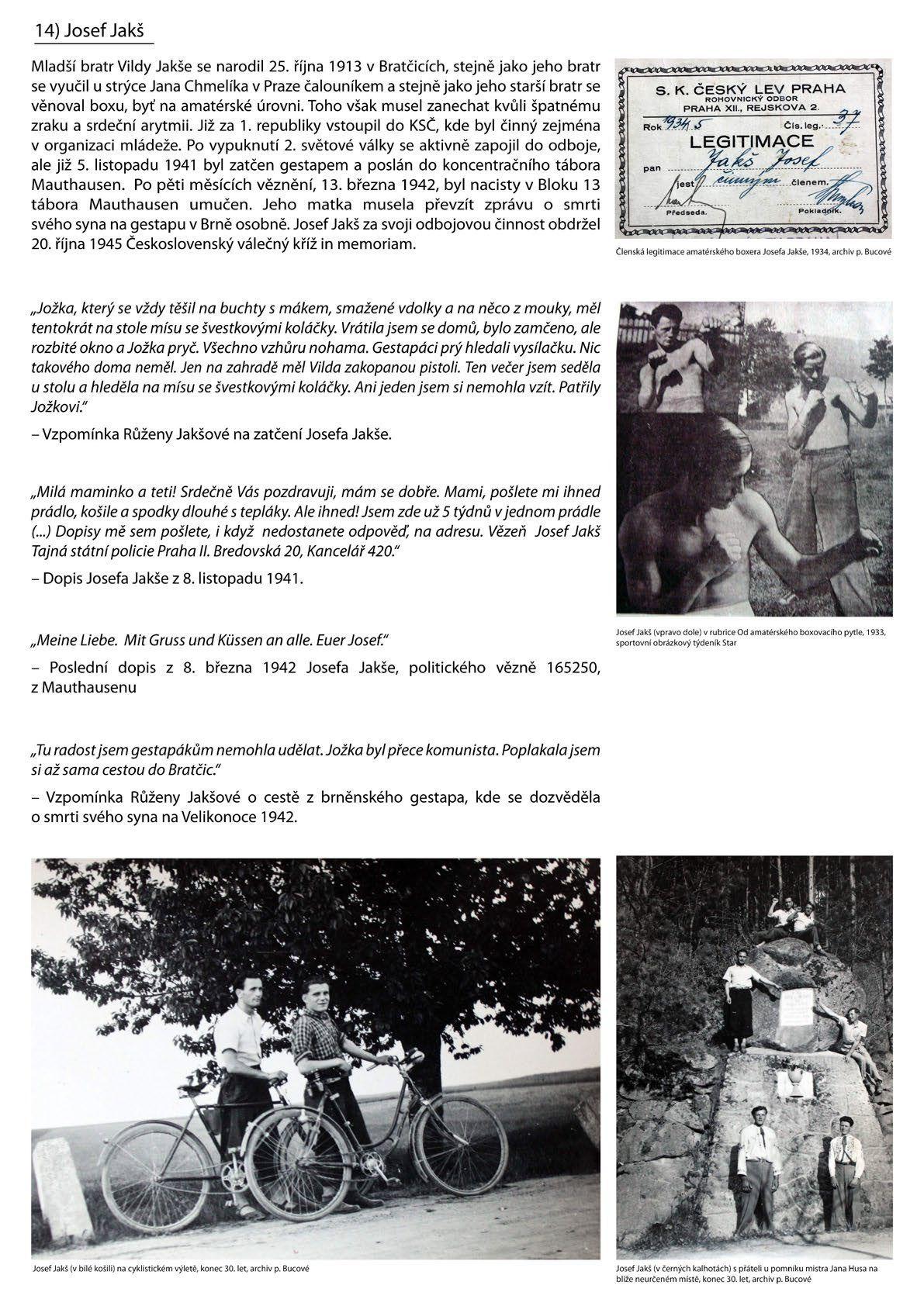 Výstava Vilda Jakš - Josef Jakš