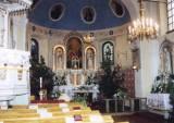 Interiér kostela 1999