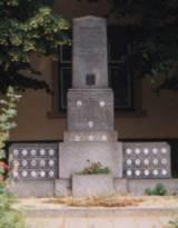 Pomník padlých - historický